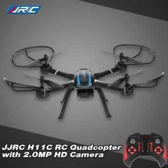 Harga Original JJRC H11C 2.4G 4CH 6-Axis Gyro CF mode One Key Return RCQuadcopter with 2.0MP HD Camera