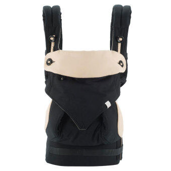 PENNY Four Position 360 Baby Carrier (Black/Camel)