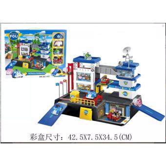 Harga Poli Transformation Robot car Poly Theme Parking