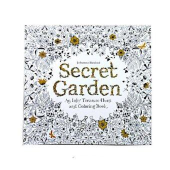 Secret Garden Anti-stress Coloring Painting Book for Kid Adult Secret Garden