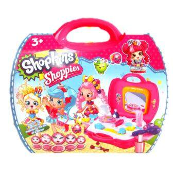 Harga Shopkins Cosmetic Bag Playsets (23pcs)