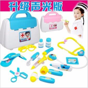 TF Children's doctor toy suit simulation medical medical kit 15 pieces
