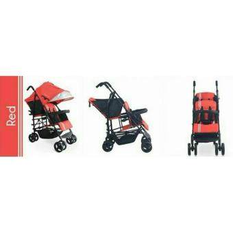 Tinyworld Twins Double Seat Stroller