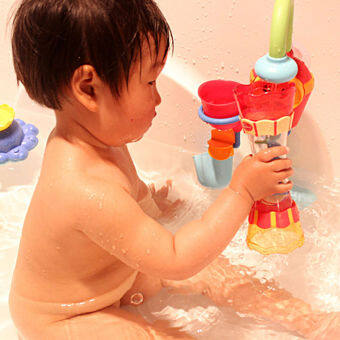 Toddler Kid Baby Boys Plastic Bath Swim Toy Water Whirly Wand CupBeach Toy Bath Toys Kids Toys for children