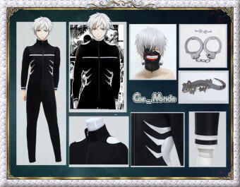 Harga Tokyo ghoul Jin Mu research full version cosplay clothing