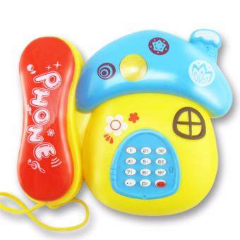 Toyt Music Telephone Cute Design Music Instruments for Kid Puzzle Toys