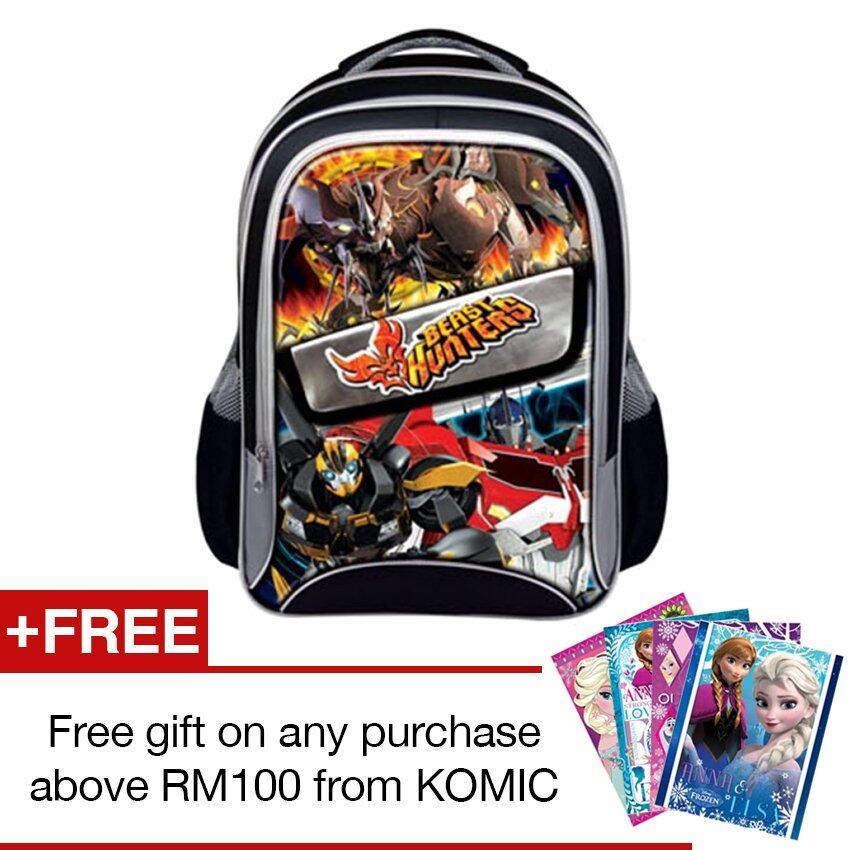 Transformers Prime School Bag