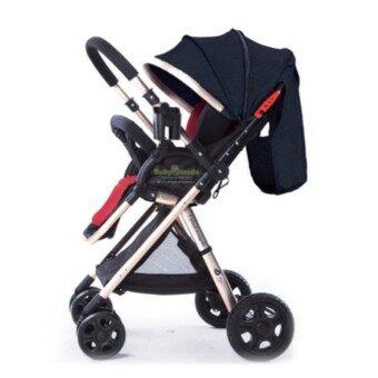 Triple'B Elegant Easy Fold Lightweight Two Way Facing Baby Stroller