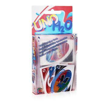 UNO Cards Game 108 Cards Waterproof PVC Transparent Play Cards Kids Toy Game Number One for Family Fun