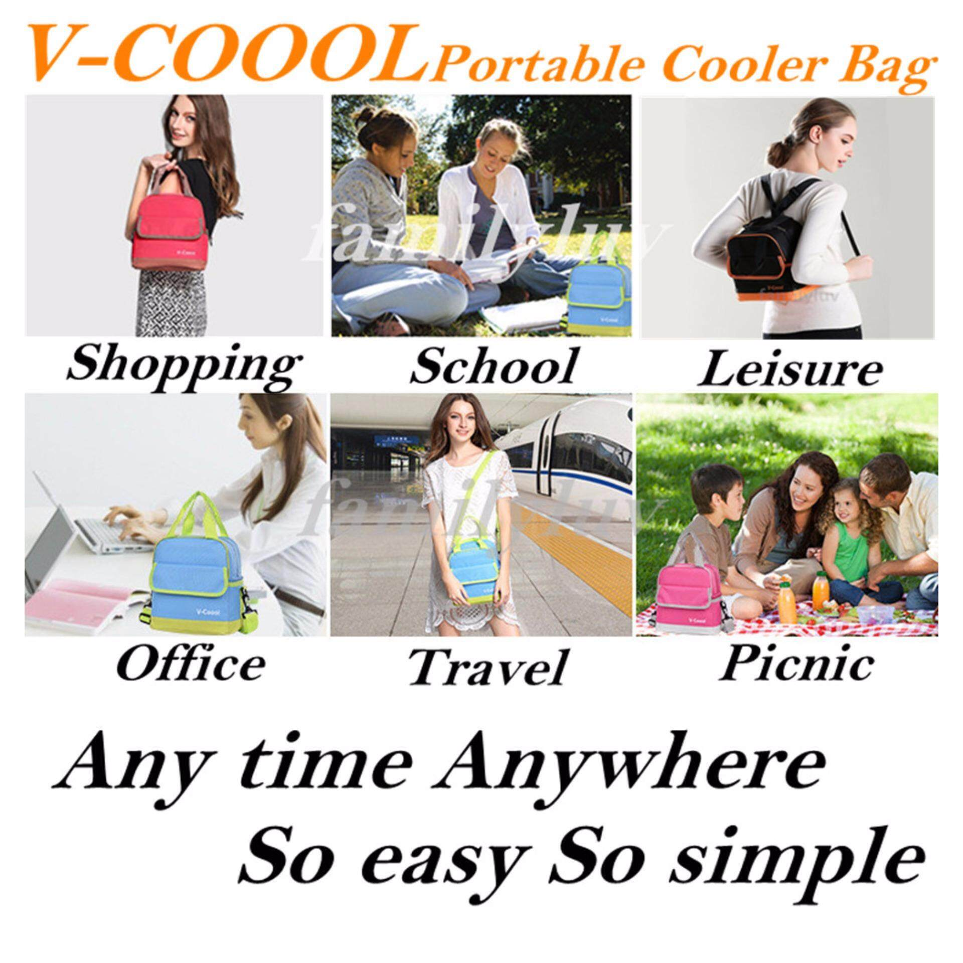 V-Coool Double Deck Cooler Bag Value Package
