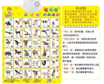 Harga With sound bump early childhood sound infants and children teachingwith wall chart