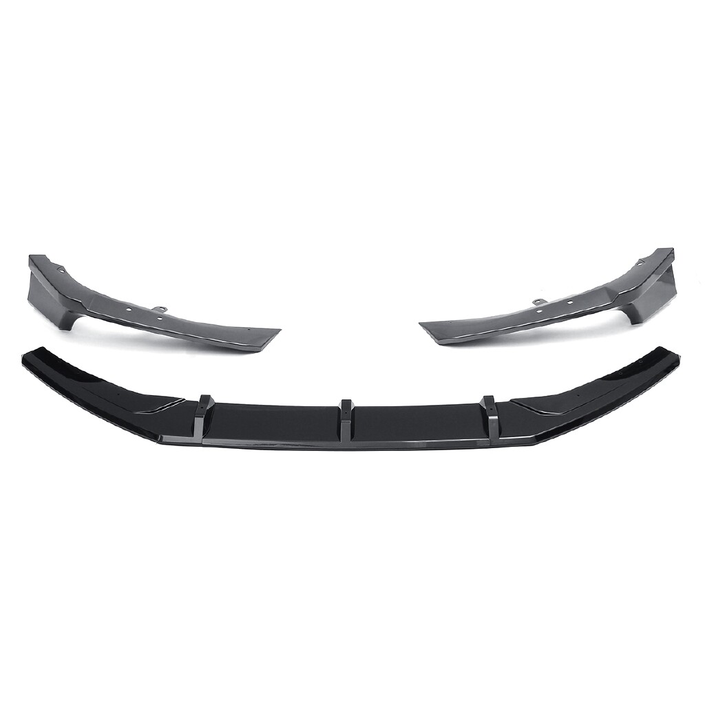 Car Accessories - 5 PIECE(s) ABS Front Bumper Lip Surround Molding Cover Trim For Honda Accord - - Automotive