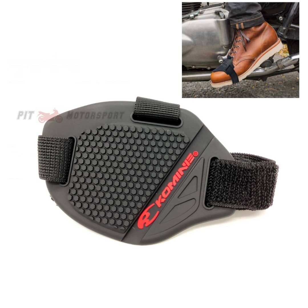 KOMINE Shoes Protector Sarung Kasut Motorcycle Boots Shifter Sock Cover Komine / Motor Accessories / Sport shoes Protection