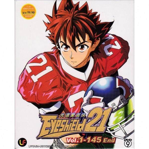 EYESHIELD 21 Vol.1-145End Anime DVD