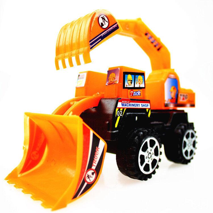 Mini Engineering Vehicle Excavator Construction Toy