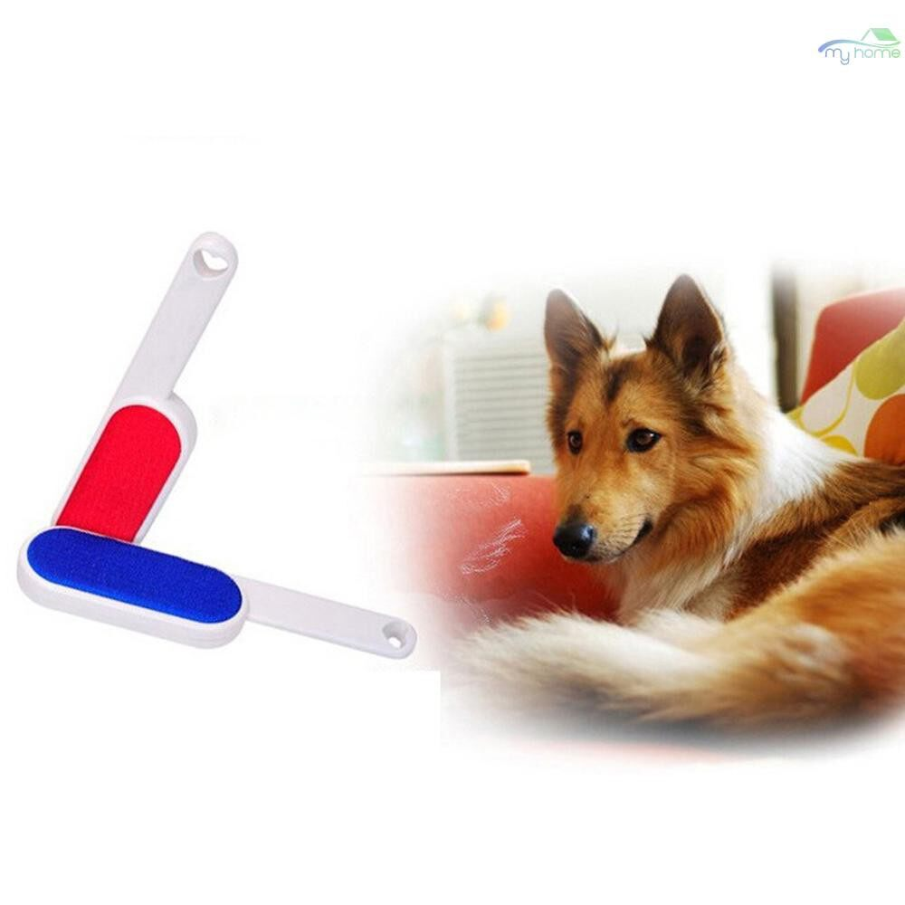 Lighting - Anti-Static Magic Lint Dust Hair Remover Cloth Dry Cleaning Brush - BLUE / RED