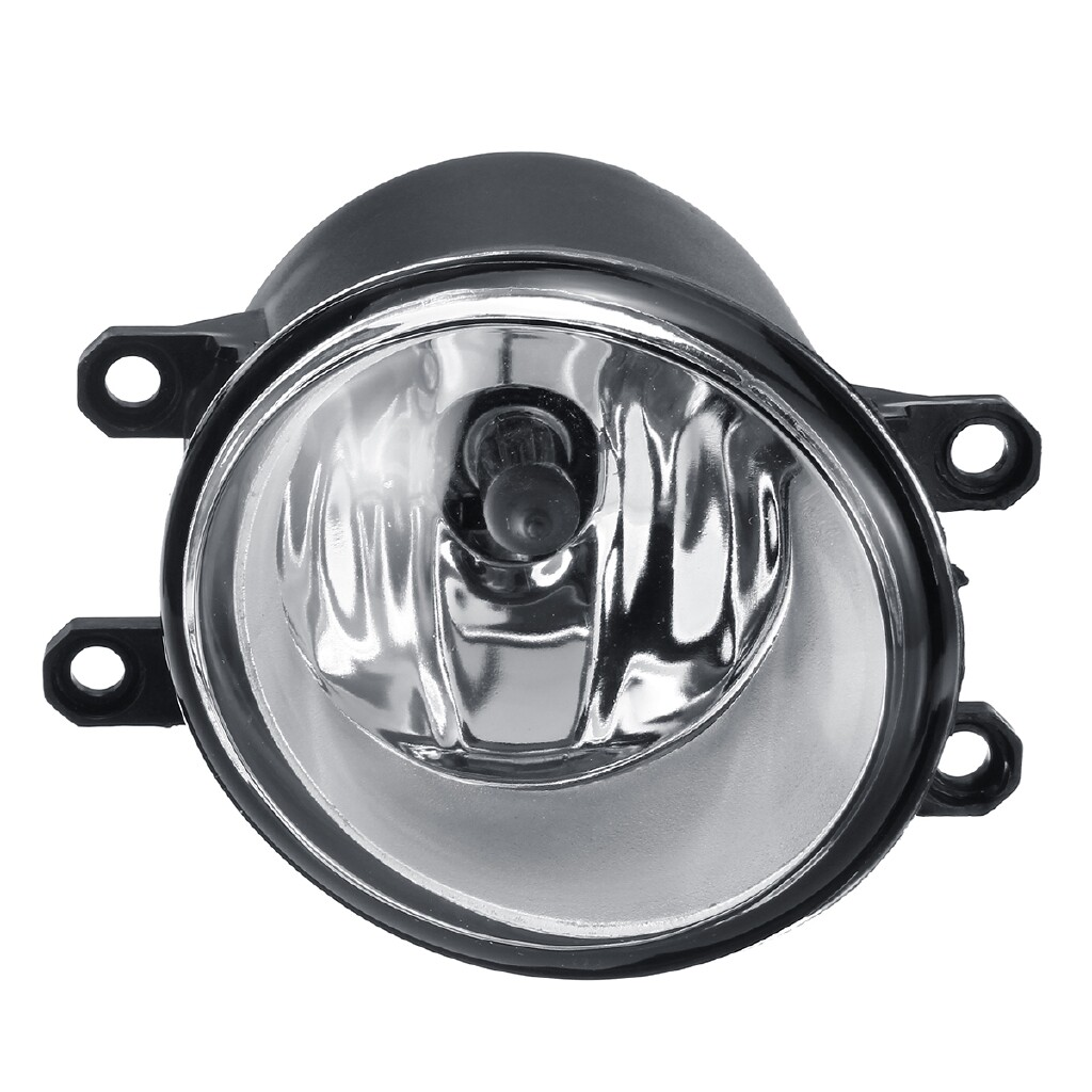 Car Lights - Universal Front Bumper Fog Light Lamp w/ H11 Bulb For Toyota Corolla Camry - Replacement Parts