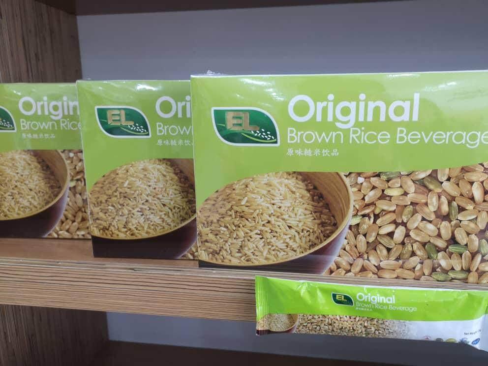 EL Brown Rice Original Beverage Instant 530 g( 25 gms x 18 pack )