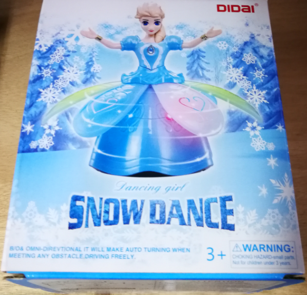 Dancing Girl Snow Dance Toys Set for girls