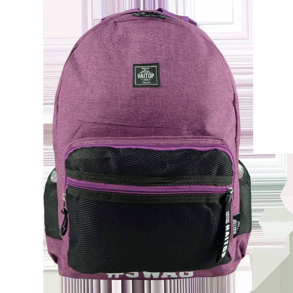 Haitop HB1954 18inch Korean Style Casual Backpack School Bag