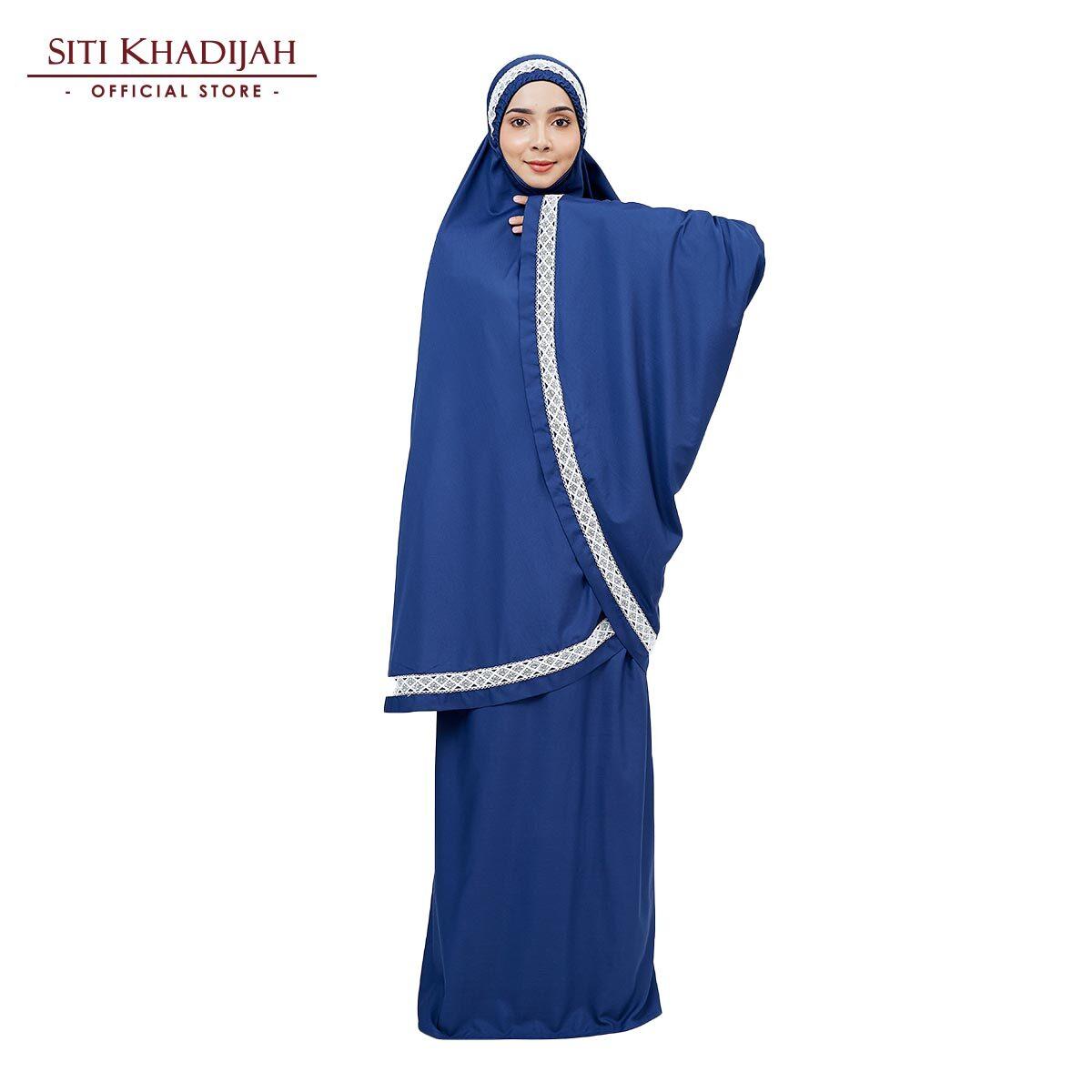 Siti Khadijah Signature Modish Melati in Navy Blue