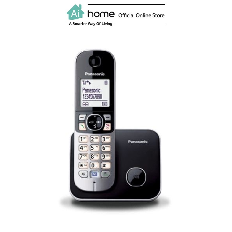 PANASONIC KX-TG6811MLB Digital Cordless Phone with 1 Year Malaysia Warranty [ Ai Home ] PANASONIC KX-TG6811 Cordless Phone