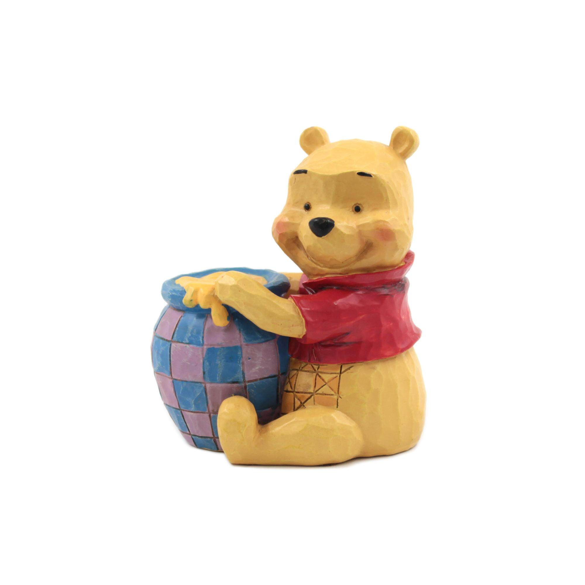 Enesco Disney Traditions Winnie the Pooh Hand Painted Collection - Mini Pooh with Honey