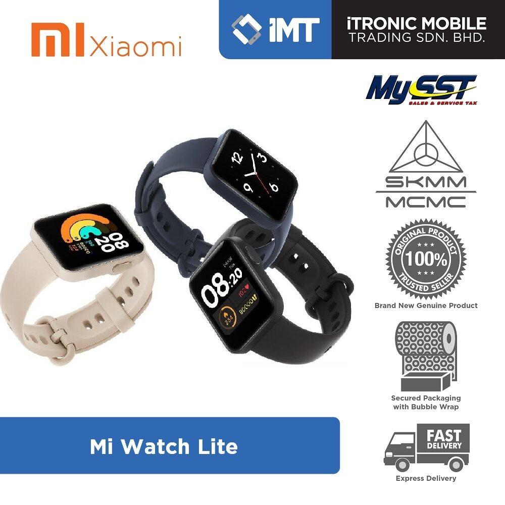 [MY] Xiaomi Mi Watch Lite Smartwatch - Original Xiaomi Malaysia