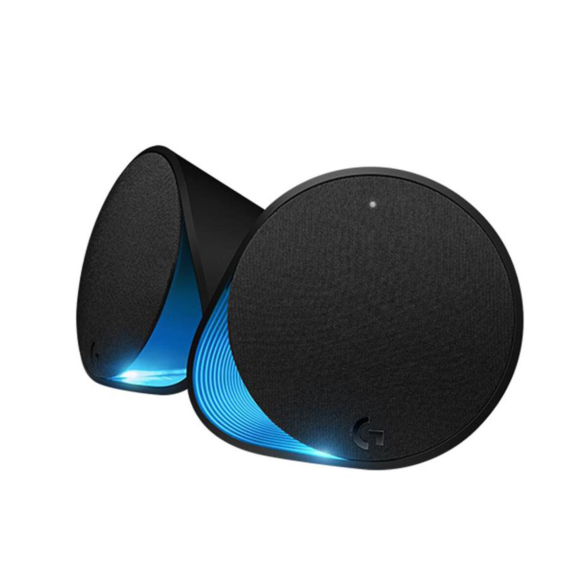 Logitech Gaming Speaker G560 with Lightsync RGB, 7.1 DTS:X Ultra Surround Sound, Audio Visualizer, 240 Watts Powerful Sound, Logitech G-Hub Support, Bluetooth 4.1, 3.5MM Audio Jack (980-001304)