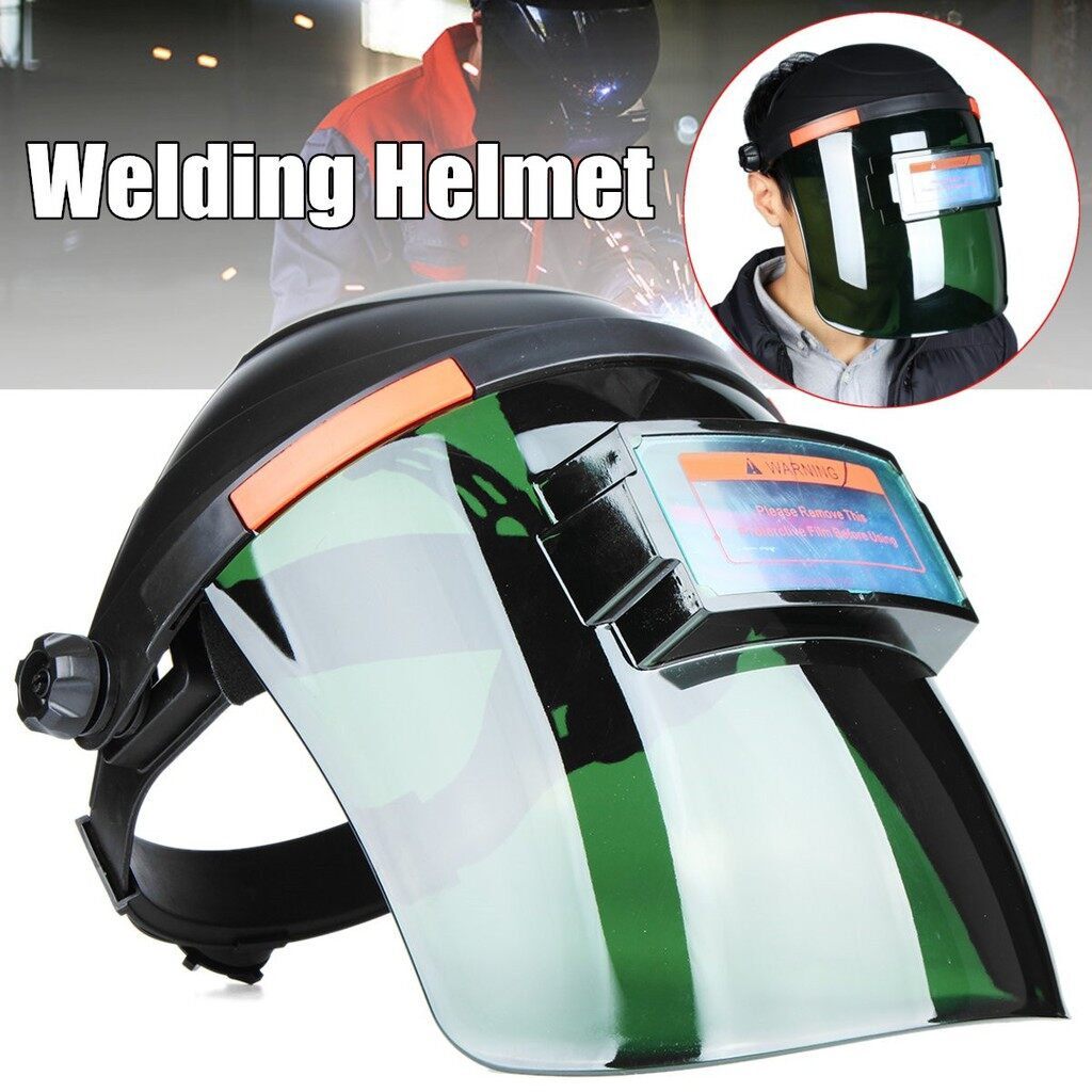 Moto Helmets - Solar 0.1ms Automatic Dimming Welding Helmet Arc TIG Weld Grinding Mask Pro - Motorcycles, Parts & Accessories