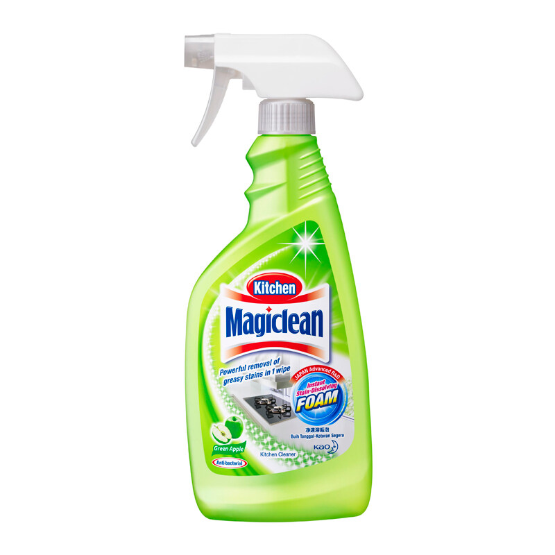 Magiclean Kitchen Cleaner (500ml) - Refreshing Lime/ Green Apple