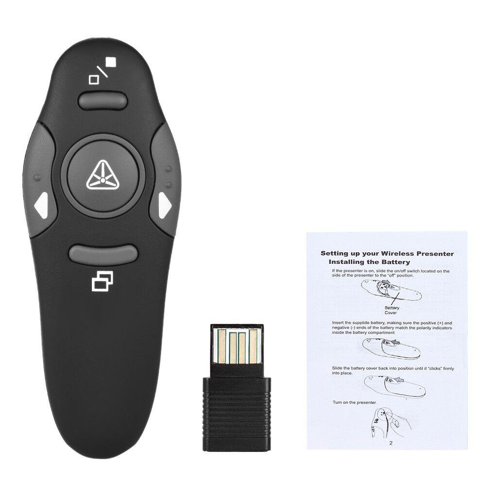 Computer Mouse - 2.4GHz WIRELESS USB Powerpoint Presentation PPT Flip Pen Pointer - Computer Accessories