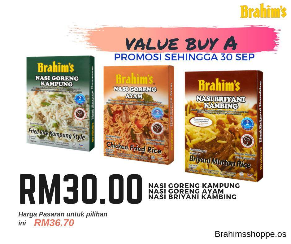 Brahim's Value Buy A (Meal Ready To Eat Rice)