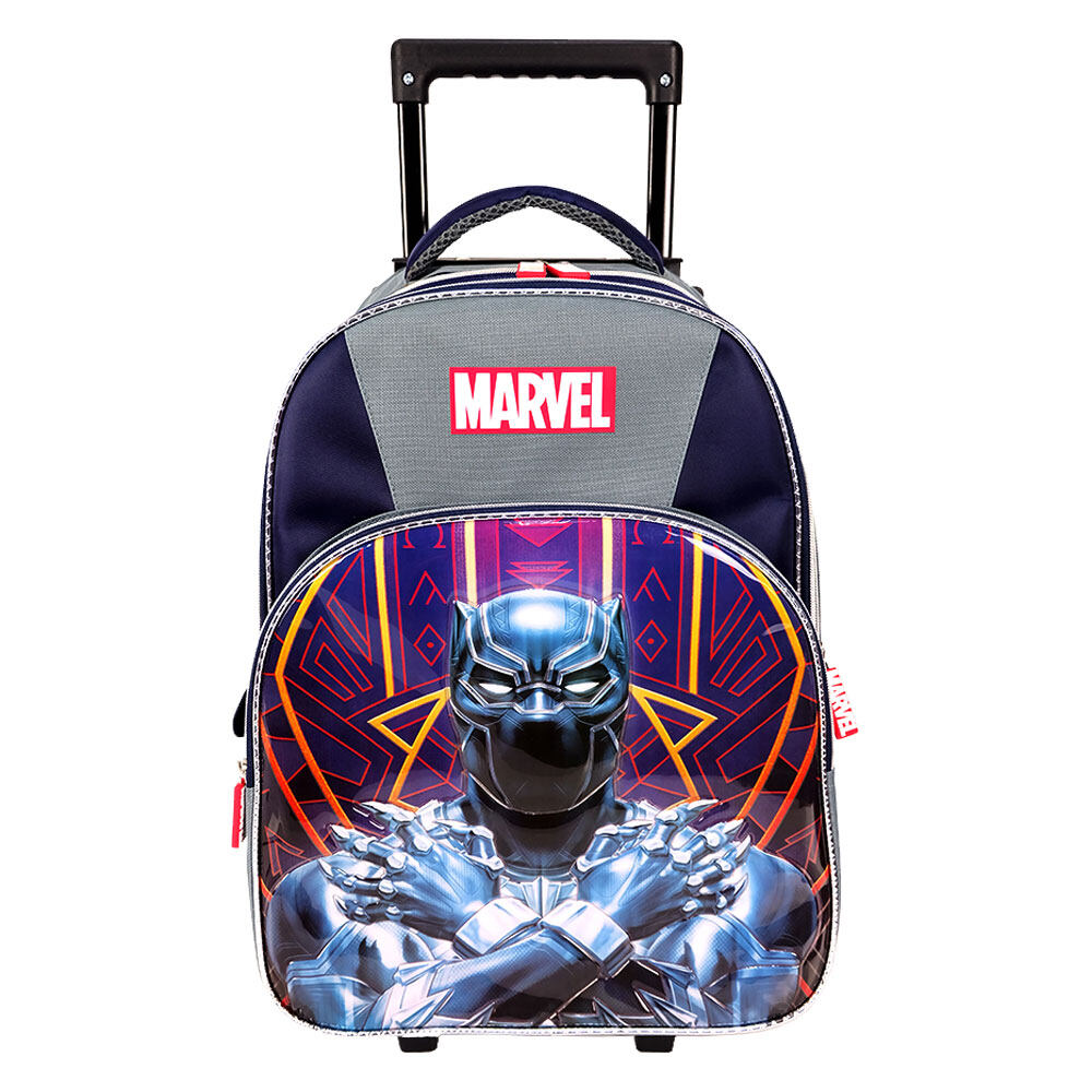 Marvel Avengers 16 inch Black Panther Trolley School Bag VAS2045R