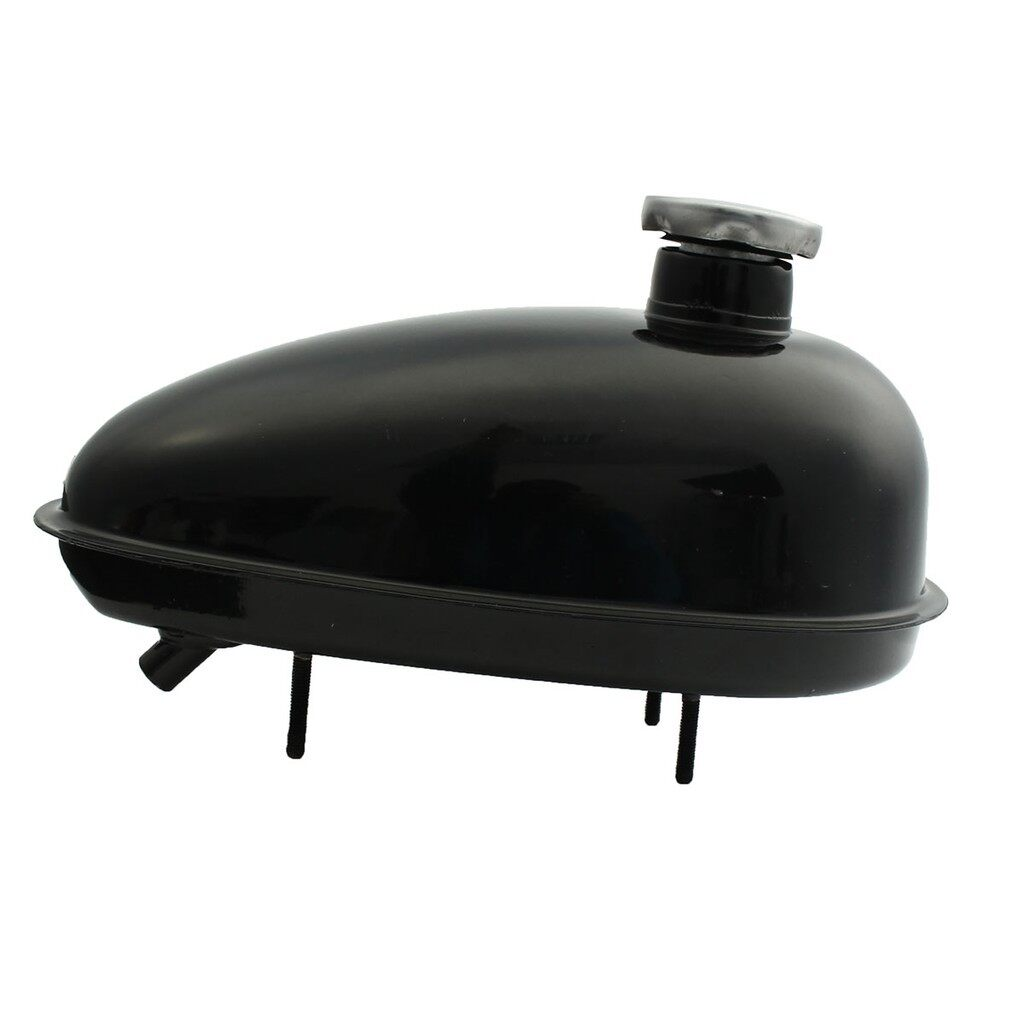 Moto Accessories - Motorized Bicycle 3L Fuel Gas Tank With Cap Black For 80cc 60cc 66cc 49cc Engine - Motorcycles, Parts