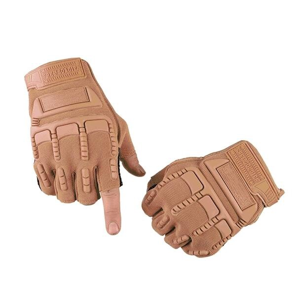 Moto Accessories - Free Soldier Half Finger Gloves Tactical Antiskid Sport Cycling Motorcycle - BLACK / COLOUR / GREEN / MUD