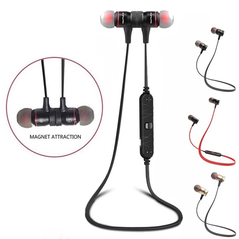 Over-Ear Headphones - Awei A920BL WIRELESS Sport BLUETOOTH 4.0 Stereo In-ear Earphone Headphone Head SET with Mic - RED / GOLD / BLACK / BLUE