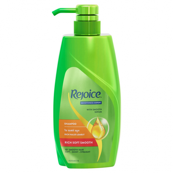 Rejoice Rich Soft Smooth Hair Shampoo 600ml