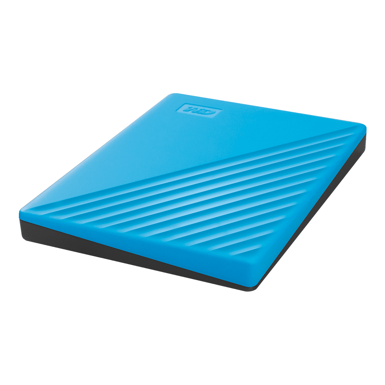 WD Western Digital My Passport 2TB Slim Portable External Hard Disk USB 3.0 With WD Backup Software & Password Protection - Blue