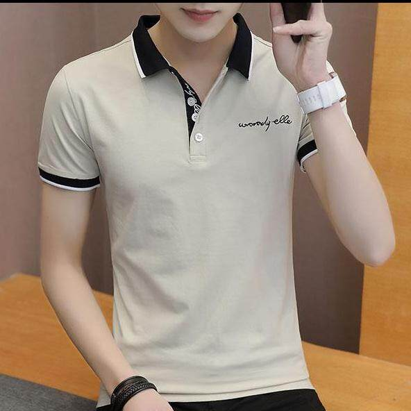 JYS Fashion Korean Style Men Polo Shirt Collection 516-712