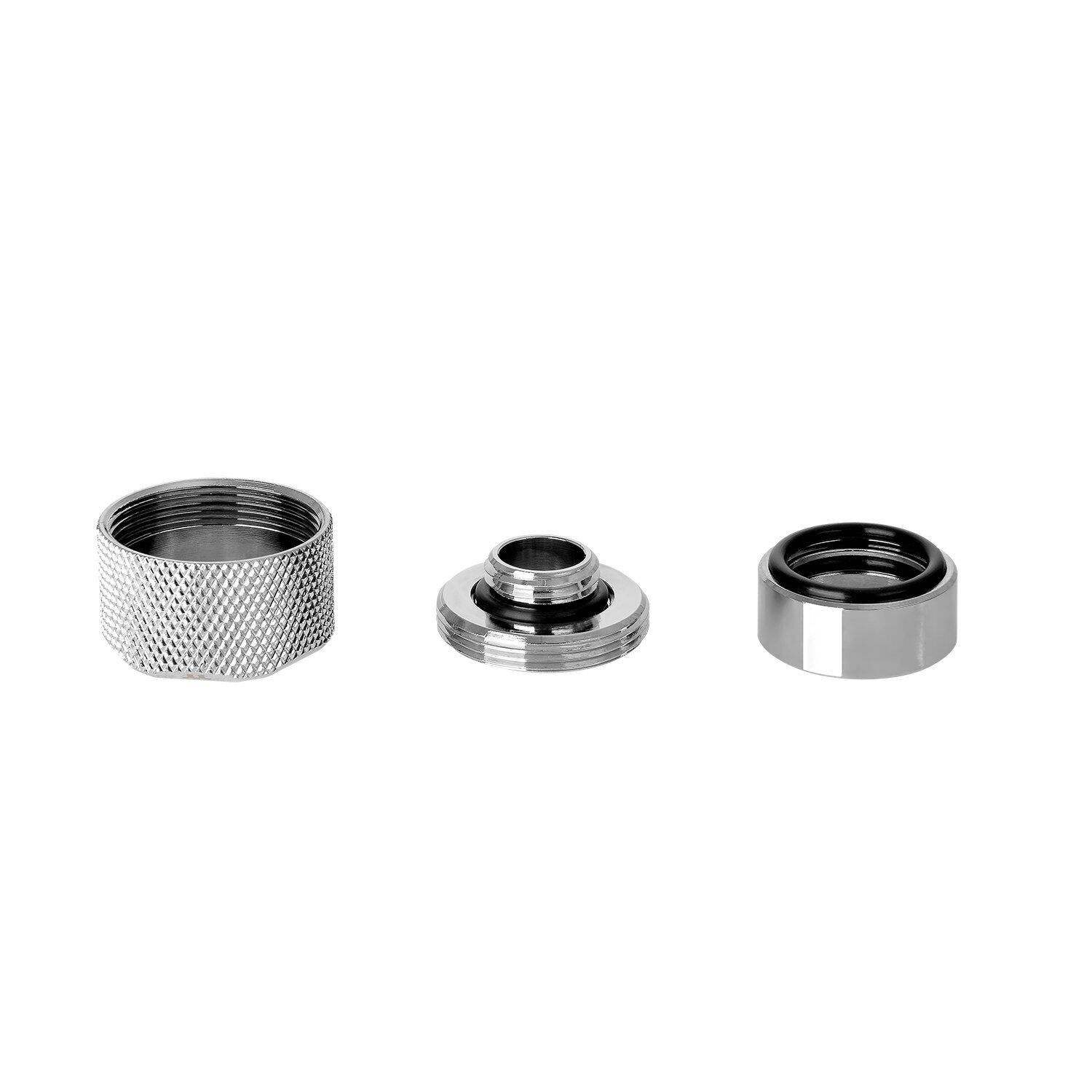 Thermaltake Pacific M-Pro G1/4 PETG 16mm Fitting - Silver (CL-W171-CU00SL-A)