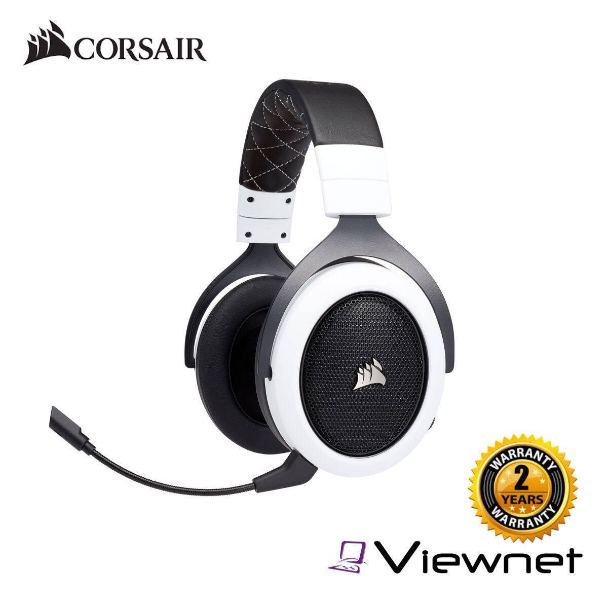 Corsair CA-9011177-AP/CA-9011178-AP HS70 WIRELESS Gaming Headset (White/SE)