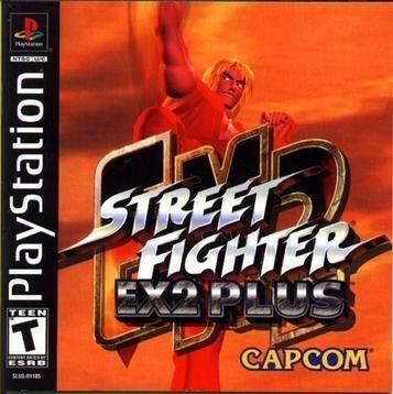 PS1 Street Fighter Ex2 Plus