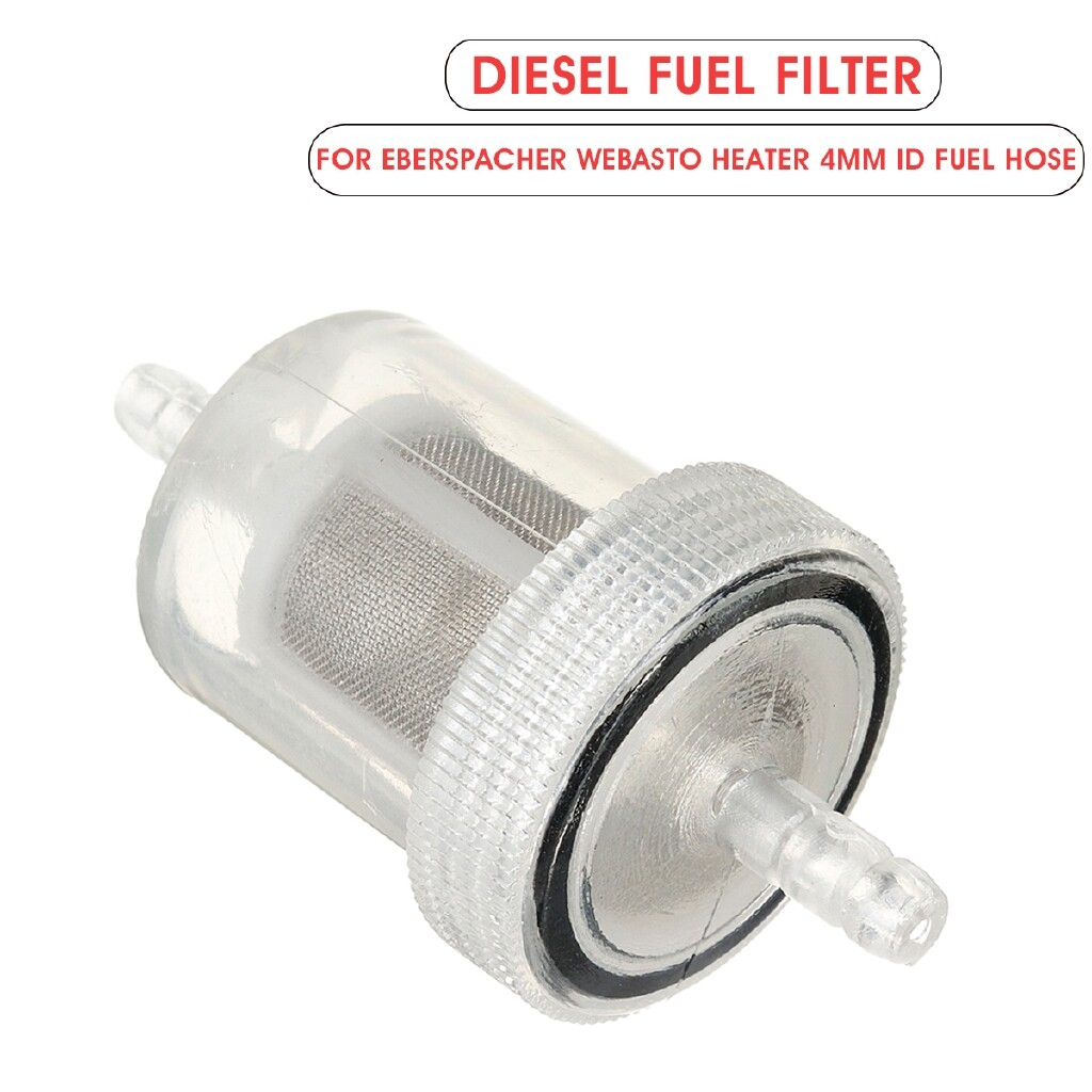 Automotive Tools & Equipment - Diesel Fuel Filter Filter Replacement For Eberspacher Webasto Heater 4mm ID fuel hose - Car Replacement Parts