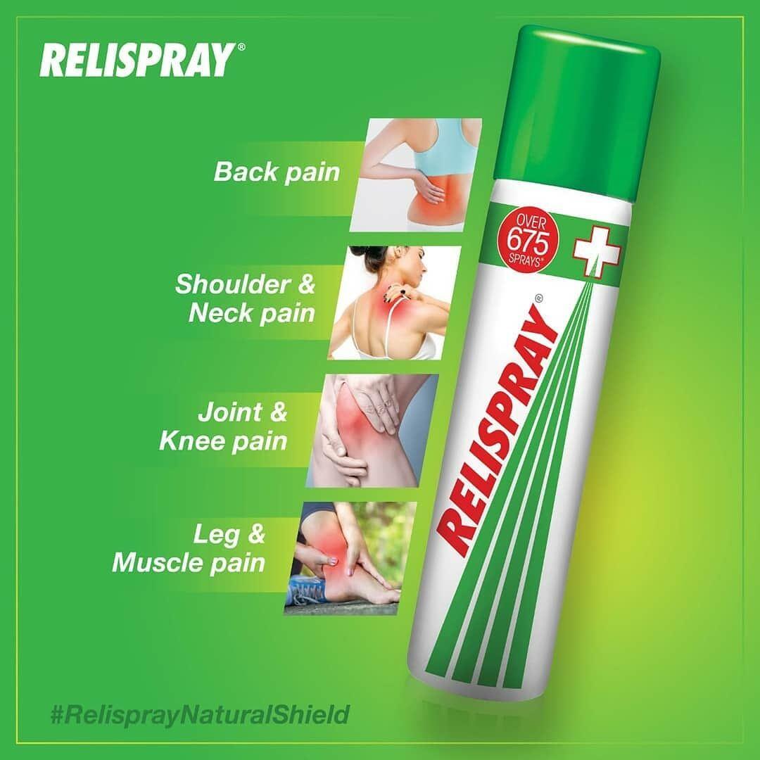 RELISPRAY pain relief spray 75g