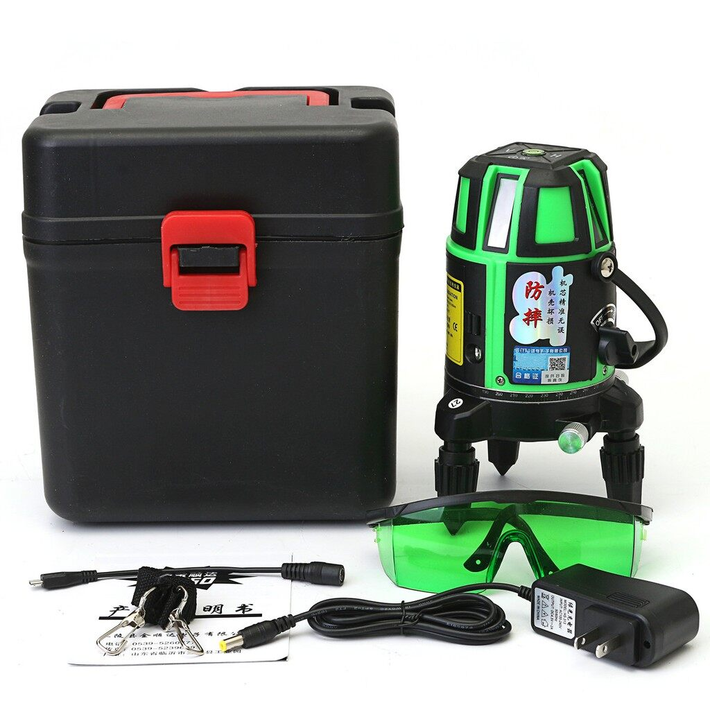 Car Lights - Rotary Green Light Laser Level 5 Line 6 Point 3D Measure Self Leveling No Tripod - Replacement Parts