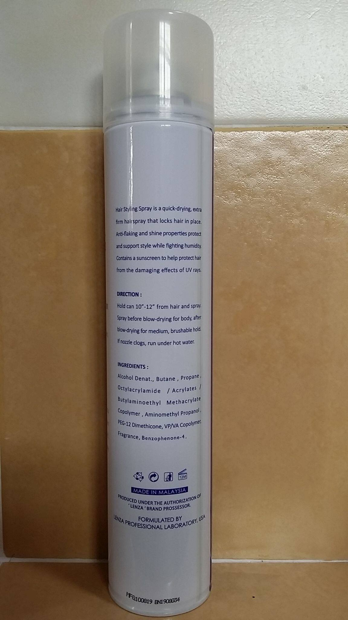 HAIRperone HC006 Lenza Professional Hair Styling Spray 420ml