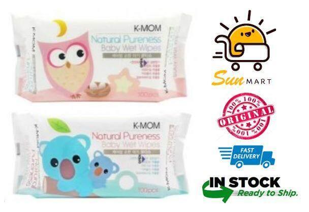 K-Mom Organic Basic Baby Wet Wipes 100pcs
