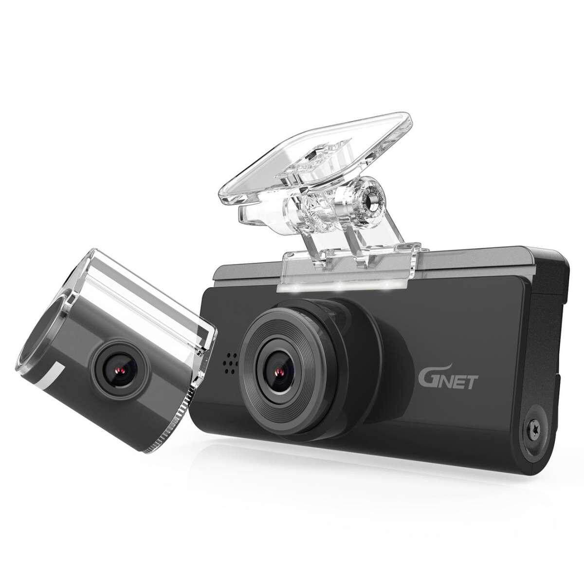 GNET N2 DVR DRIVING RECORDER 1080PNIGHT VISION DASH CAM HIGH QUALITY FRONT & REAR VIEW FULL HD RECORDINGS