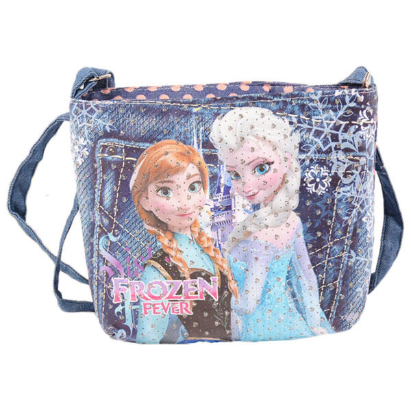 Giá bán Princess Elza Elsa Anna Adjustable Strap Messenger Shoulder Cross Purse Bag